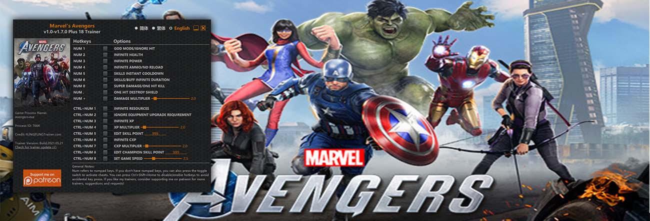 Marvel's Avengers – Trainer FLiNG