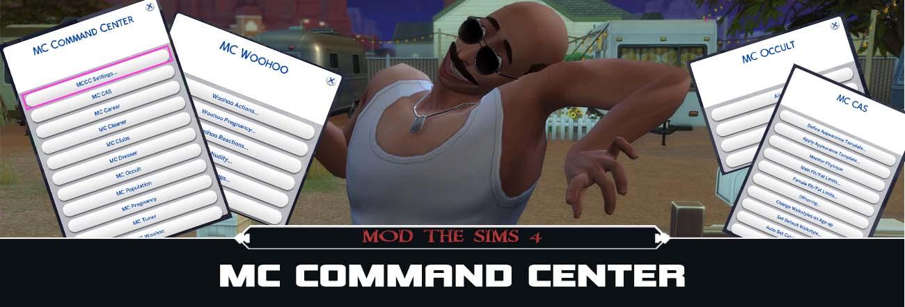 MC Command Center – TS4 Mods