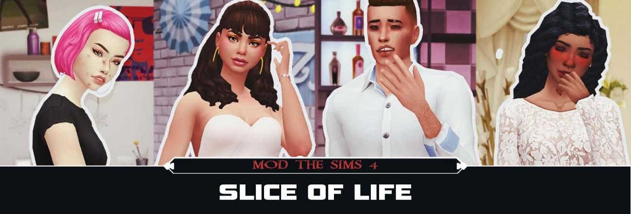 Slice of Life – TS4 Mods