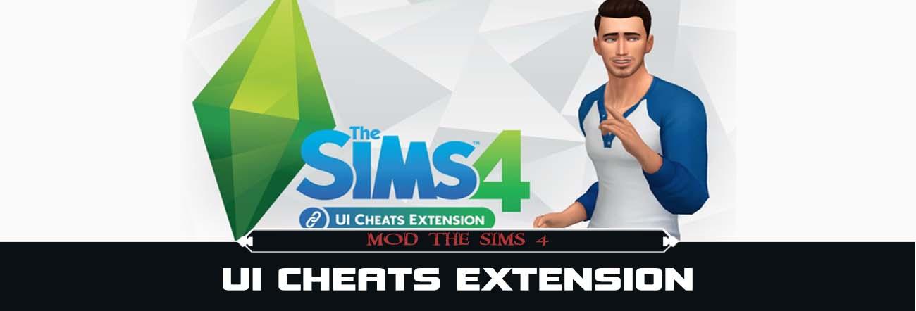 UI Cheats Extension – TS4 Mods